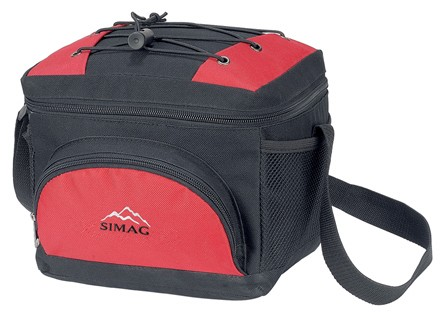 420D Polyster  Red  Material cooler bag
