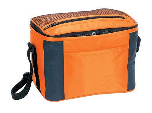 420D Polyster  Yellow Material cooler bag