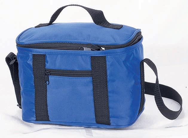 Blue 420D Polyster Material cooler bag