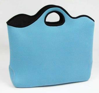 Blue Cute  Simple Lunch cooler bag