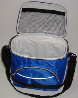 Blue Round cooler bag