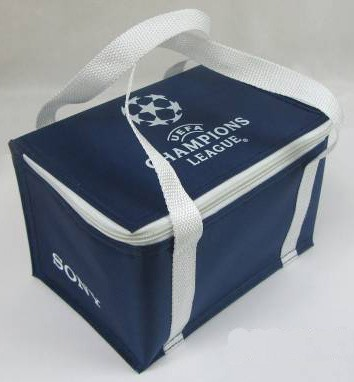 Blue Simple Lunch cooler bag