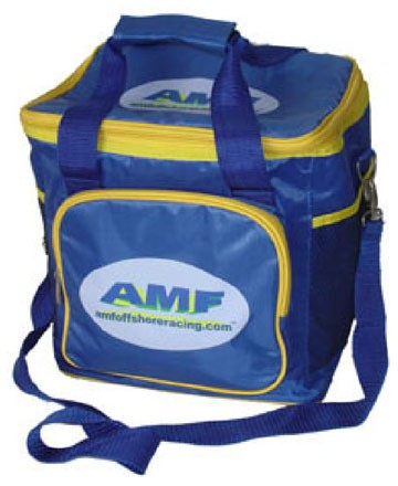 Blue Travel cooler bag With Two Strap