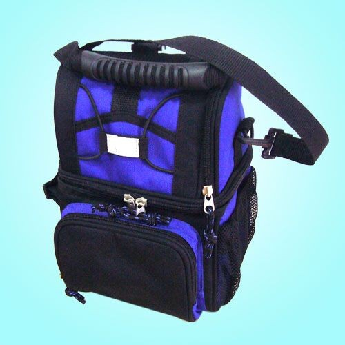Blue capacityTravel cooler bag
