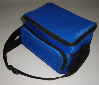 Bule cooler bag For cans