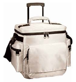 Cool lunch cooler bag  With Trolly