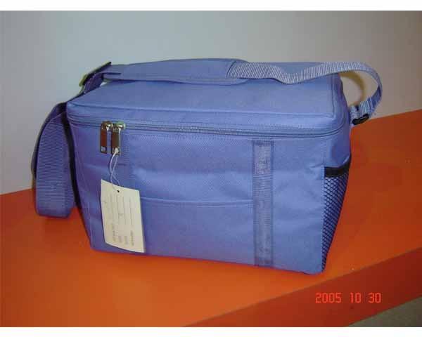 Fashion Blue 420D Polyster Material cooler bag