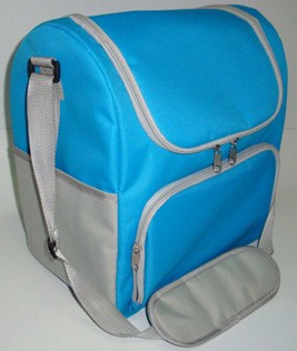 Green Can cooler bag With Long Strap