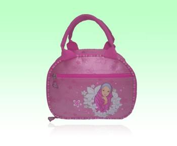 Pink Kid Cartoon Travel cooler bag
