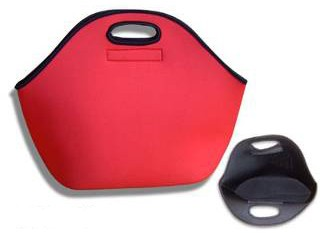 Red Simple Lunch cooler bag