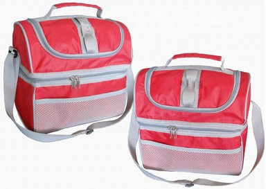 Red cooler bag  With long Strap