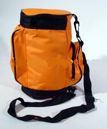 Yellow Round Travel cooler bag