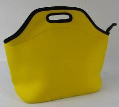 Yellow Simple Lunch cooler bag