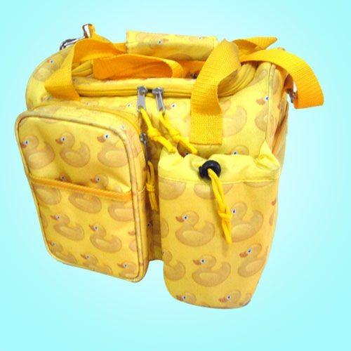 Yellow capacityTravel cooler bag
