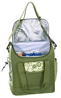 basic polyester insulated lunch bag