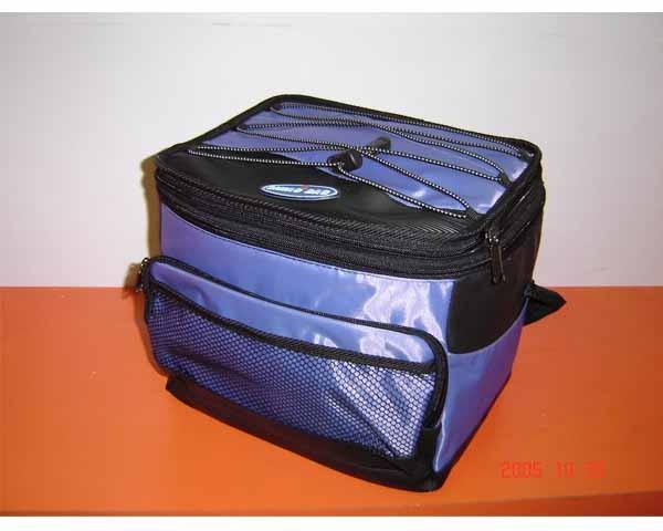 flashlight blue  Material cooler bag