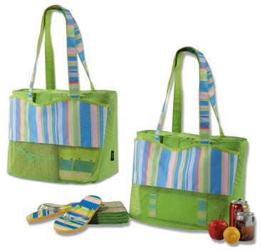 lunch cooler bag with bottom pocket