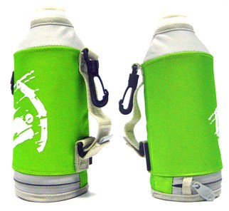 thermos bottle shape cooler bag