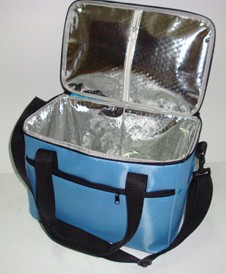 tinfoil lining cooler bag With Long Strap