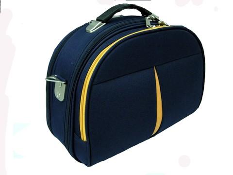 Black  Polyster  EVA Cosmetic bag