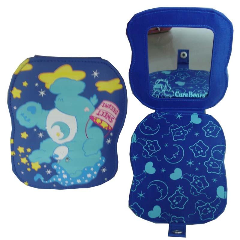 Blue PVC Cosmetic bag