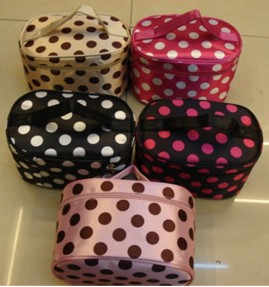 Colours Dots  Beauty  Cosmetic bag