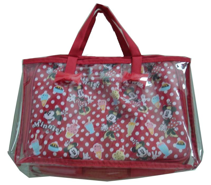 Eyes Shape polyster Cosmetic bag