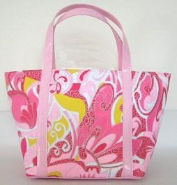 Fashion  Pink Micro Cosmetic bag