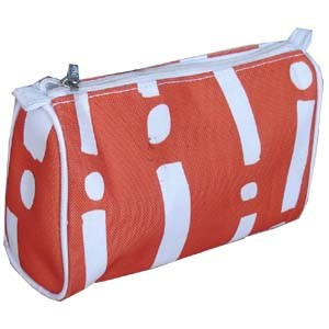 Fashion Pink polyster Cosmetic bag