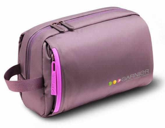 Fashion Purple polyster Cosmetic bag