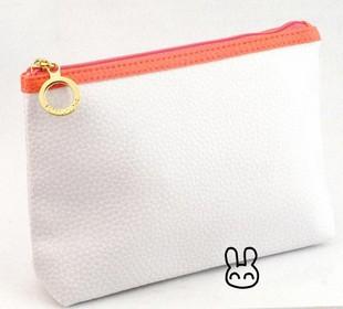Fashion White PVC   Cosmetic bag