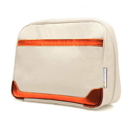 Fashion White polyster Cosmetic bag