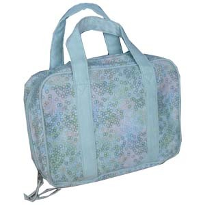 Fashion White polyster Cosmetic bag