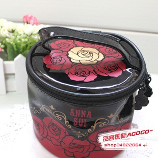Flower PVC  Cosmetic bag