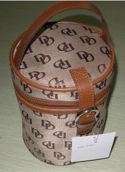 Found Polyster Cosmetic bag