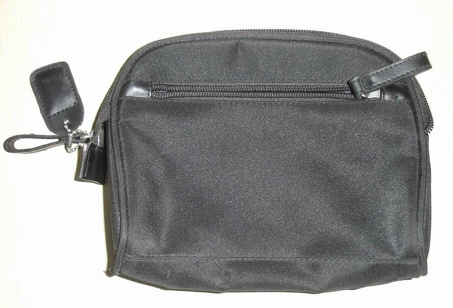 Gray polyster Cosmetic bag