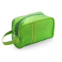 Green   Beauty  Cosmetic bag