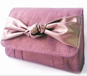 Purple   polyster Cosmetic bag