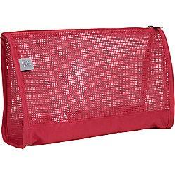 Red Mesh  Cosmetic bag