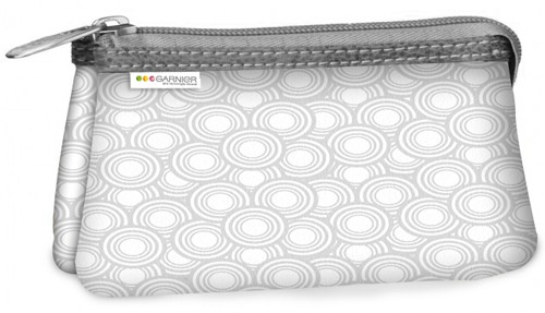 White polyster Cosmetic bag