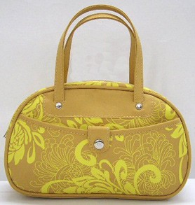 Yellow Micro Cosmetic bag