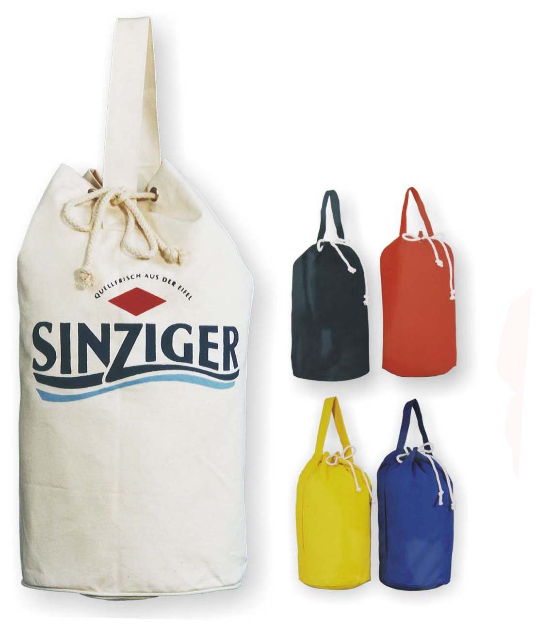 Colours Canvas drawstring backpack