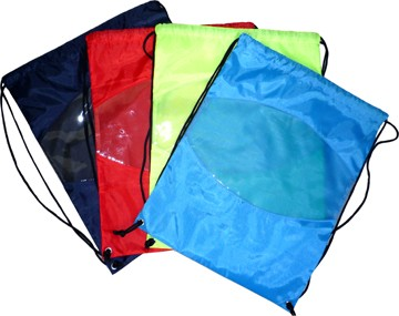 Colours Polyster drawstring backpack