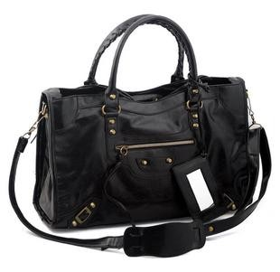 2012 Hot sell Black pu lady bag