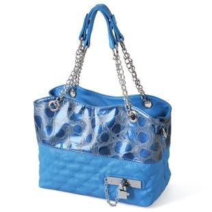 2012 Hot sell Blue  lady fashion handbag