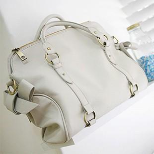 2012 Hot sell White pu lady bag