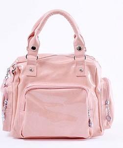 2012 Pink bright fashion bag
