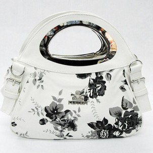 2012 White  bright fashion bag