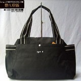 Fashion Black Fabric handbag
