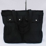 Fashion Black Fabric handbag